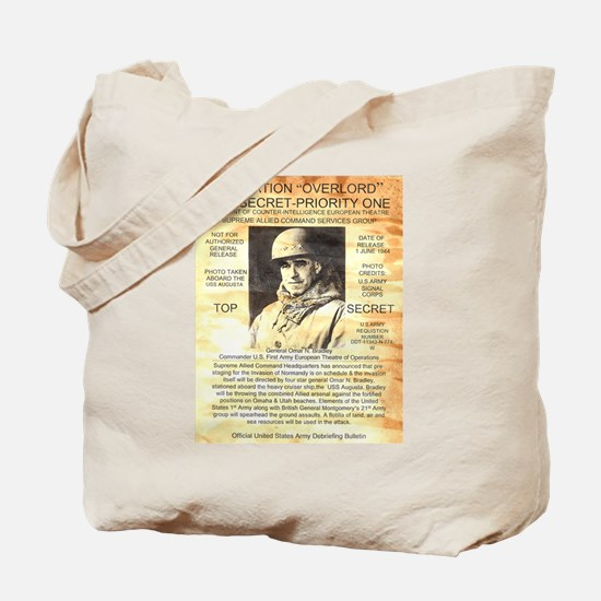 General Omar Bradley Tote Bag