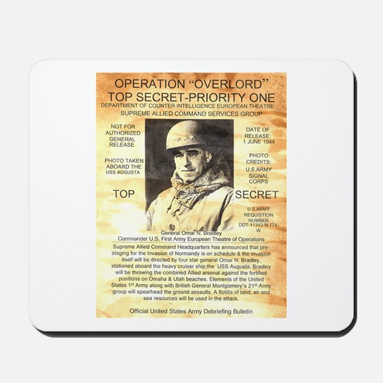 General Omar Bradley Mousepad