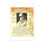 General Omar Bradley Mini Poster Print