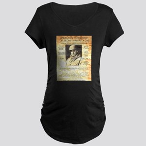 General Omar Bradley Maternity Dark T-Shirt