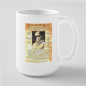 General Omar Bradley Large Mug