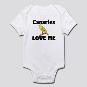 Canaries Love Me Infant Bodysuit