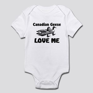 Canadian Geese Love Me Infant Bodysuit