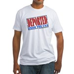 Deported From The USA Fitted T-Shirt