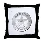 Deadwood Marshal Throw Pillow