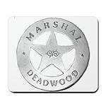 Deadwood Marshal Mousepad