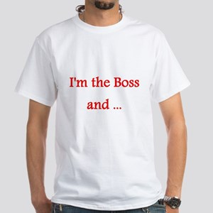 Boss White T-Shirt