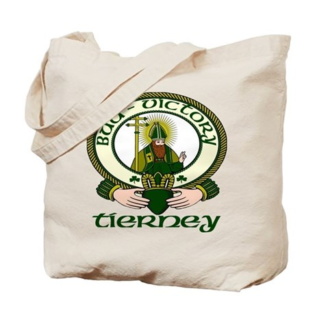 Tierney Clan Motto Tote Bag