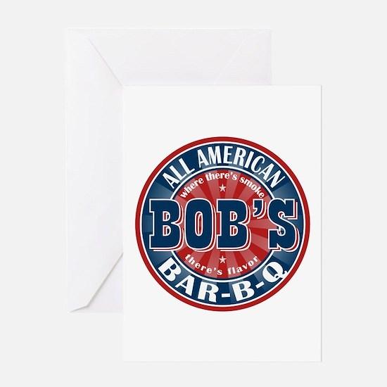 Bob's All American BBQ Greeting Card