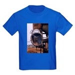 Cement mixer chute - Kids Dark T-Shirt