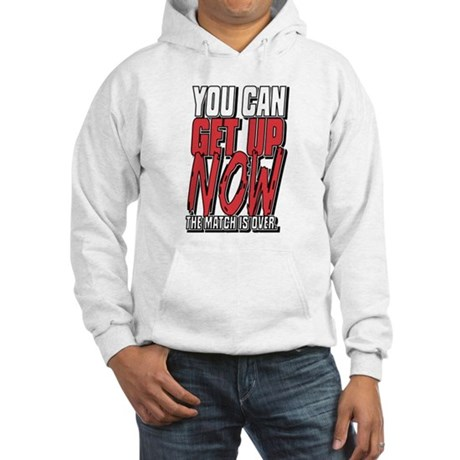 Wrestling Get Up Now Hooded Sweatshirt