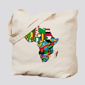Flags of Africa Tote Bag