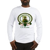 Irish heritage moore clan motto Long Sleeve T-shirts