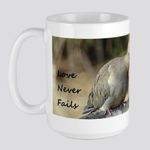 Love Never Fails Mugs