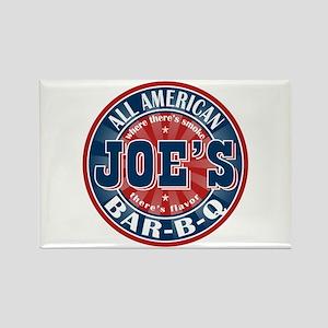 Joe's All American BBQ Rectangle Magnet