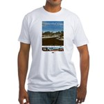 Sapelo/LostWorlds of GA Fitted T-Shirt