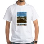 Sapelo/LostWorlds of GA White T-Shirt