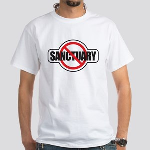 No Sanctuary White T-Shirt