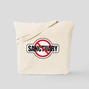 No Sanctuary Tote Bag