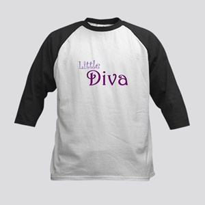 Little Diva Kids Baseball Jersey