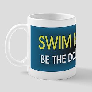 Swim Slogan 11 oz Ceramic Mug