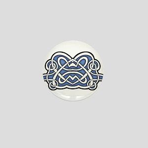 CELTIC64_BLUE Mini Button