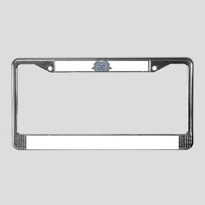 CELTIC64_BLUE License Plate Frame
