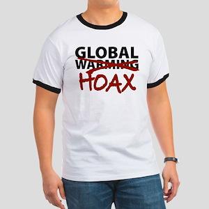 Global Warming Hoax Ringer T