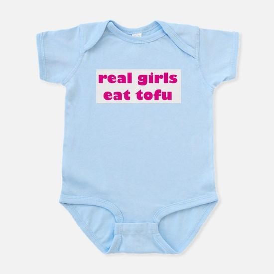 Real Girls Eat Tofu Infant Bodysuit