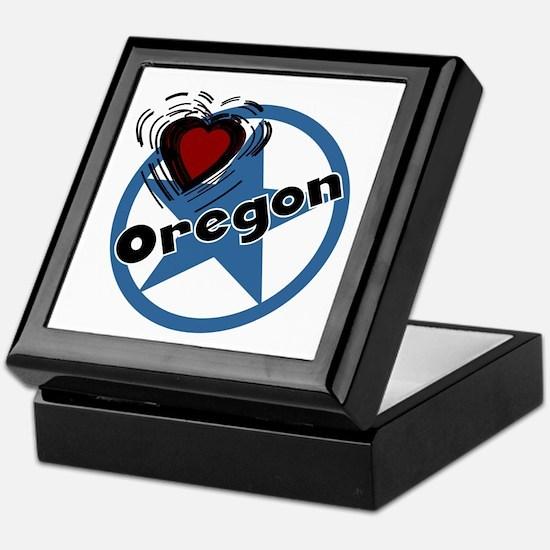 Love Oregon Keepsake Box