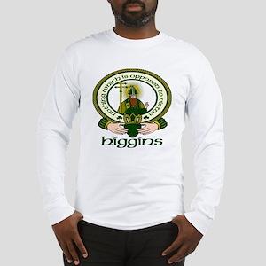 Higgins Clan Motto Long Sleeve T-Shirt