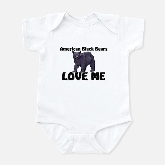 American Black Bears Love Me Infant Bodysuit