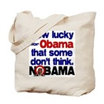 Lucky for Obama Tote Bag