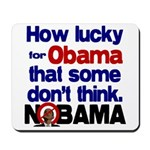 Lucky for Obama Mousepad