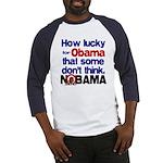 Lucky for Obama Baseball Jersey