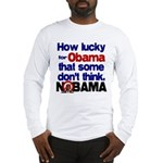 Lucky for Obama Long Sleeve T-Shirt