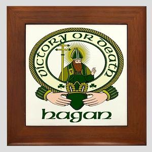 Hagan Clan Motto Framed Tile