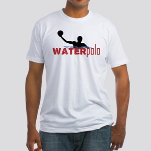 waterpolo silhouette Fitted T-Shirt