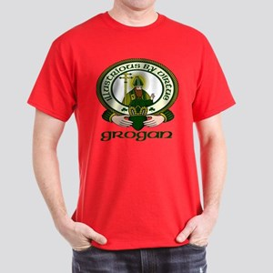 Grogan Clan Motto Dark T-Shirt