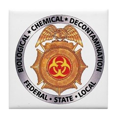Bio-Chem-Decon Tile Coaster
