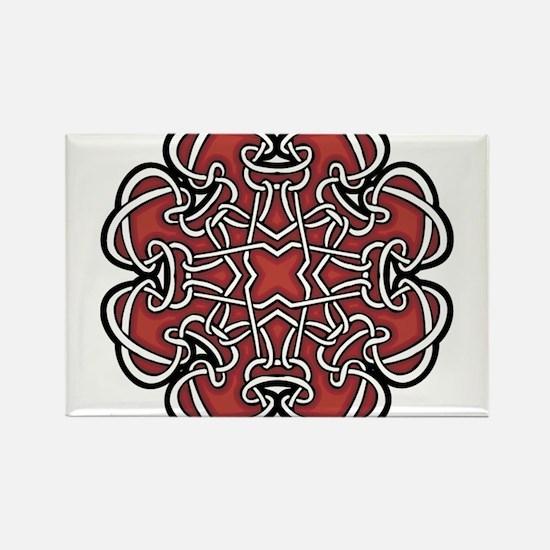 CELTIC79_RED Rectangle Magnet