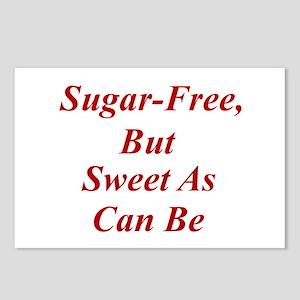 Sugar-Free Postcards (Package of 8)