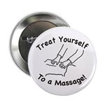 "Treat Yourself To Massage 2.25"" Button (100 p"