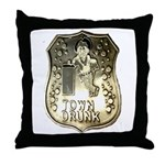 Town Drunk Throw Pillow
