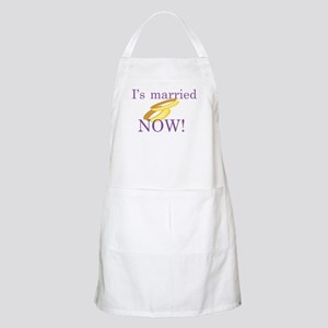 I's Married BBQ Apron