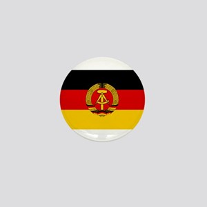 Flag of East Germany Mini Button
