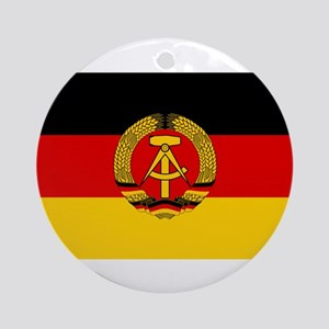 Flag of East Germany Ornament (Round)