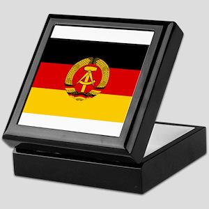 Flag of East Germany Keepsake Box