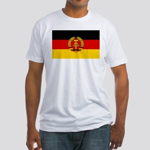 Flag of East Germany Fitted T-Shirt