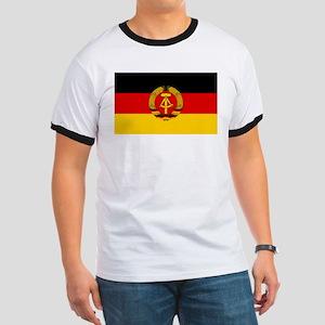 Flag of East Germany Ringer T
